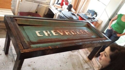 50 S Chevy Tailgate Coffee Table Tailgate Bench