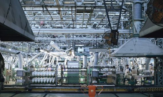 ムーンスターの工場