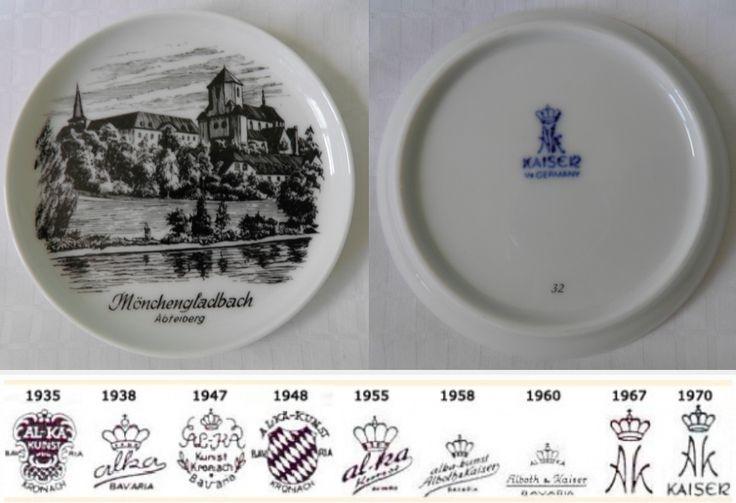 Kaiser Vase West Germany 14
