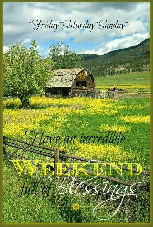 326 Best Images About Weekend Wishes On Pinterest Its The Weekend Have A Good Weekend And