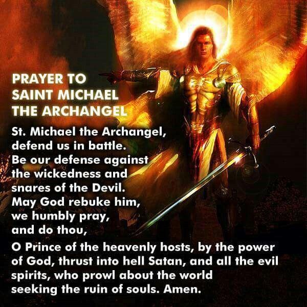 17 Best Ideas About St Michael Archangel Prayer On