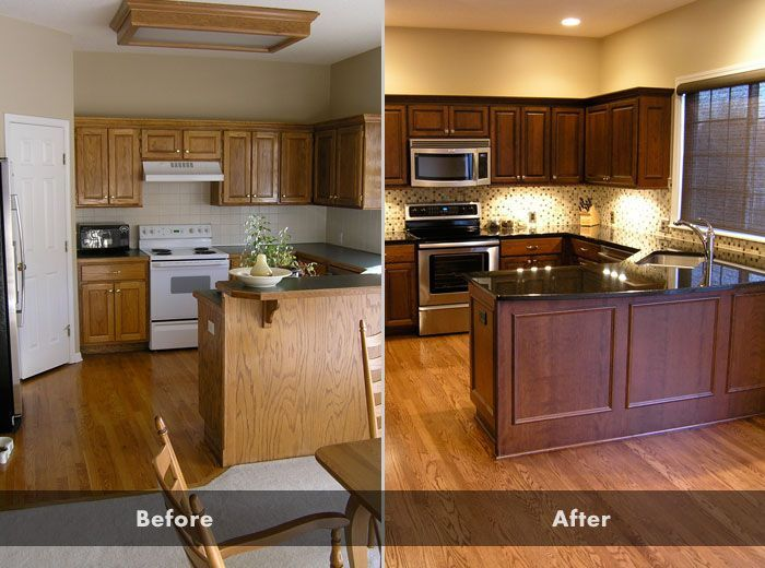 Should i paint or stain my oak kitchen cabinets for How can i update my kitchen cabinets on a budget