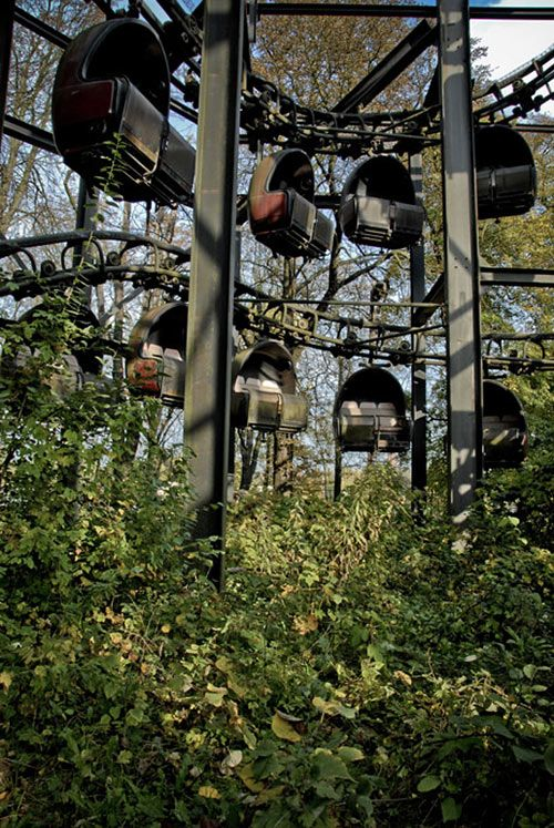 The former amusement park on the Spree in Spreepark. Just south of Treptower Park, it is a great cycle ride and offers some stunning views of