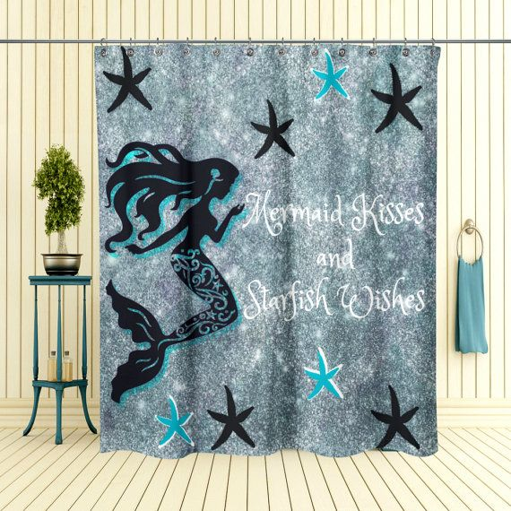 25 Best Ideas About Mermaid Shower Curtain On Pinterest Mermaid Bathroom Decor Mermaid