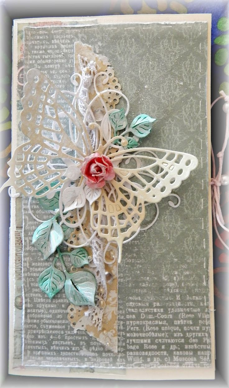 166 Best Cards Shabby Chic Images On Pinterest