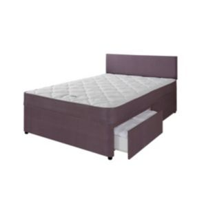Forty Winks Newington Essential Small Double 2 Drw Divan At Argos Co Uk