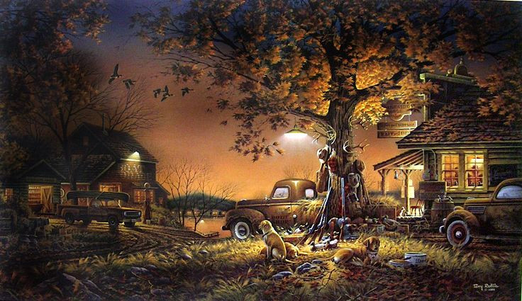 Terry Redlin Twilight Time One Of My Favorites Cant