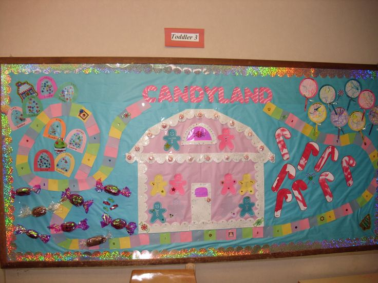 CANDYLAND BULLETIN BOARD Pretodd Activities To Create The