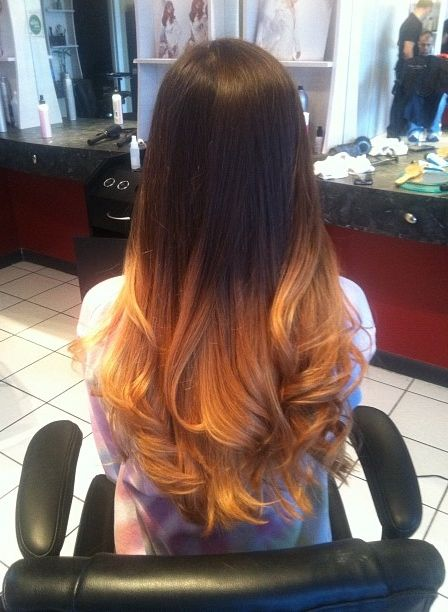 This In My Opinion Is Ombre Highlights GONE WRONG The