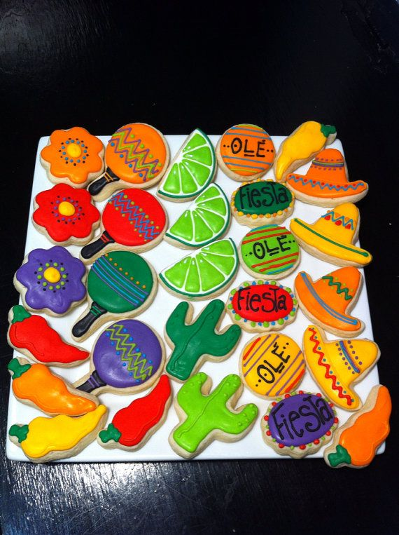 156 Best Images About Cinco De Mayo Cookies Cakes