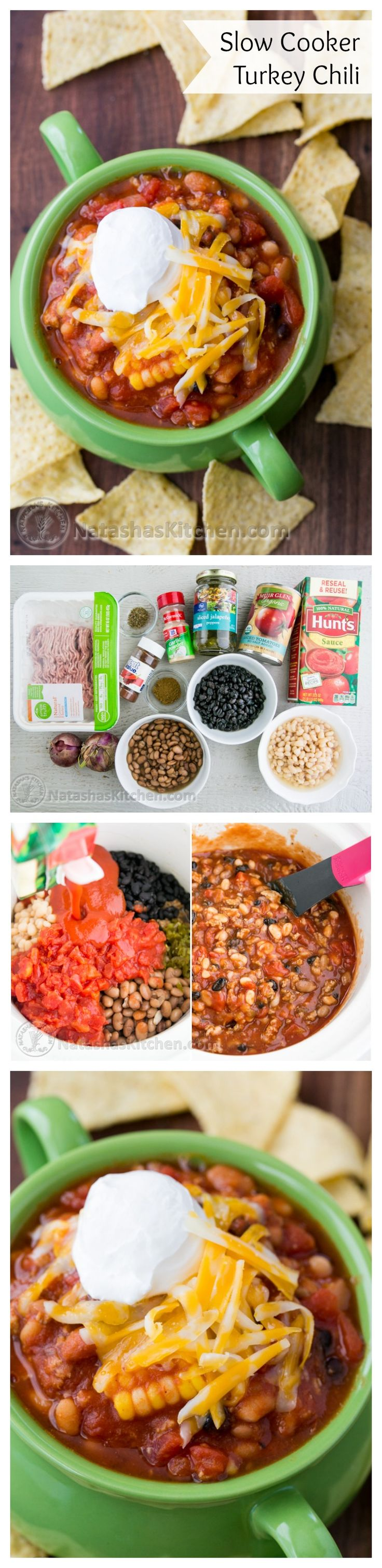 Slow Cooker Turkey Chili Re