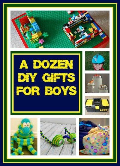 Countdown To Christmas Dozen DIY Gift Ideas For Boys