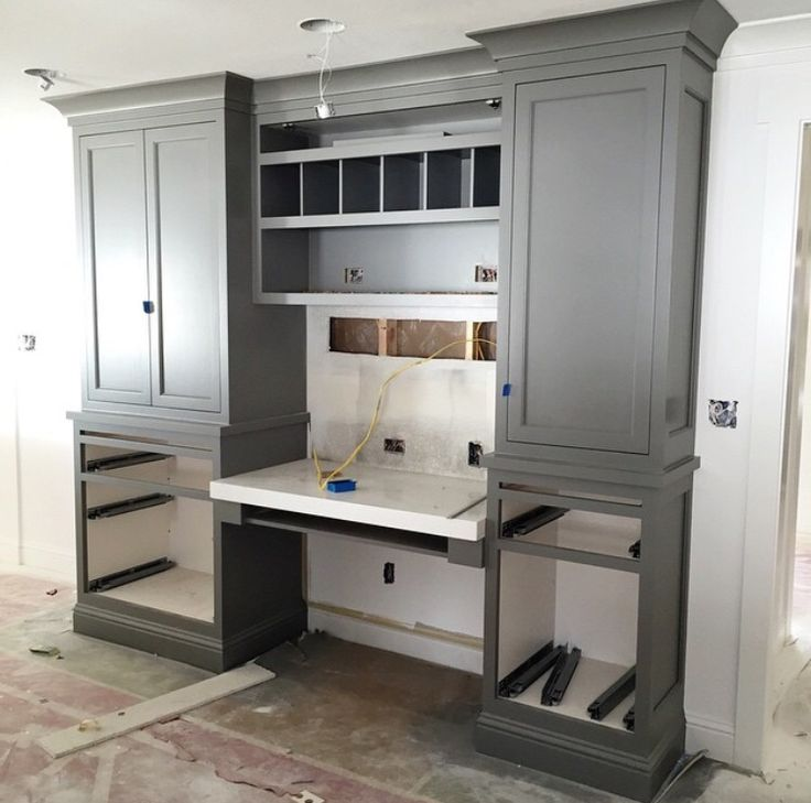 Studio Mcgee BM Chelsea Grey Cabinet Profile And Color