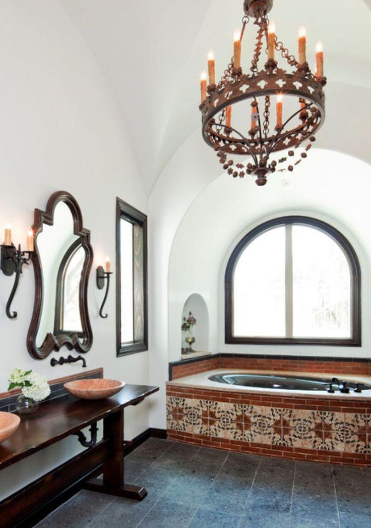 25 Best Ideas About Spanish Style Bathrooms On Pinterest