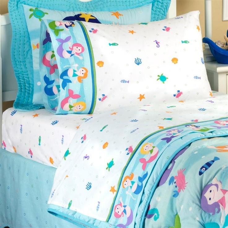 Bedding Under The Sea Girls Bedroom Pinterest Olives Mermaids And Kid