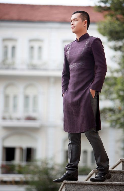 14 Best Images About Ao Dai For Men On Pinterest