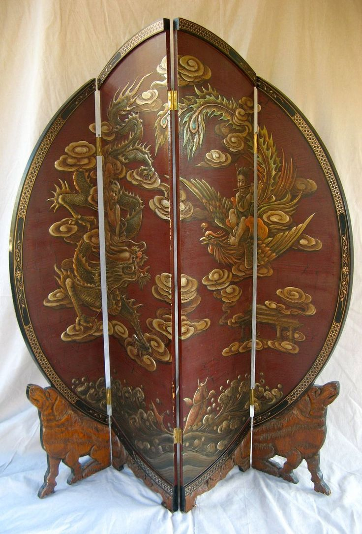 17 Best Images About Vintage Folding Screens On