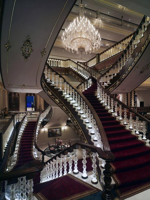 Id have a house with one long staircase going up and one even longer coming down! And one more leading nowhere just for show.