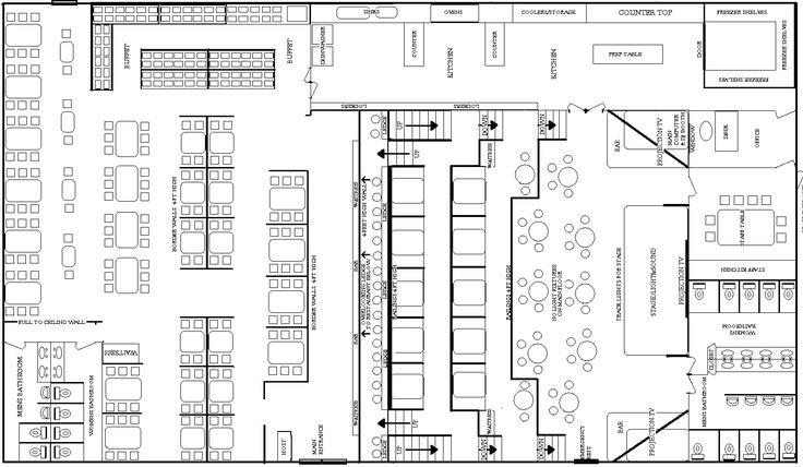 Free Restaurant Floor Plans