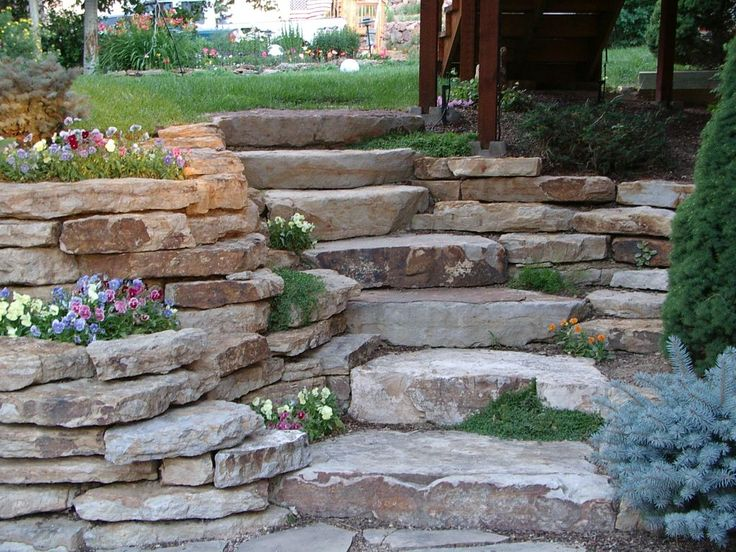 72 best steps up a slope images on pinterest on stone wall id=53933