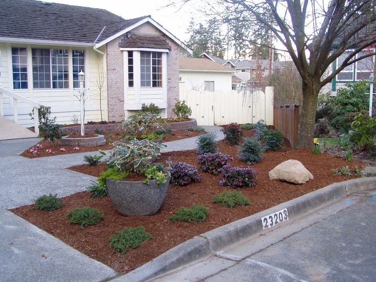 23 best Parkway Landscaping Ideas images on Pinterest on Backyard Ideas No Grass  id=29418