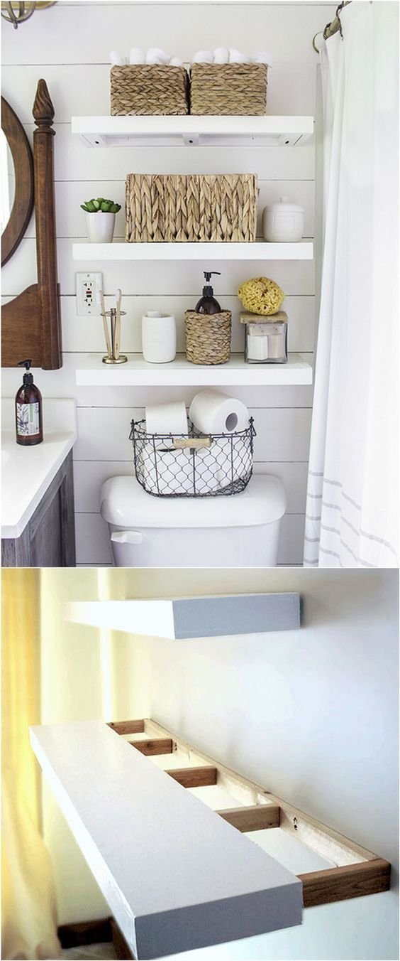 unique design options for diy floating shelves beautiful on wall shelves id=56564