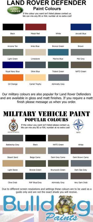 Landrover colours | Landrover | Pinterest | Search, Land