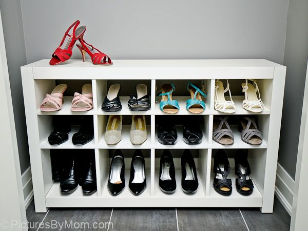 Expedit Into Shoes Rack