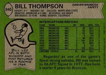 Image result for Bill Thompson denver broncos