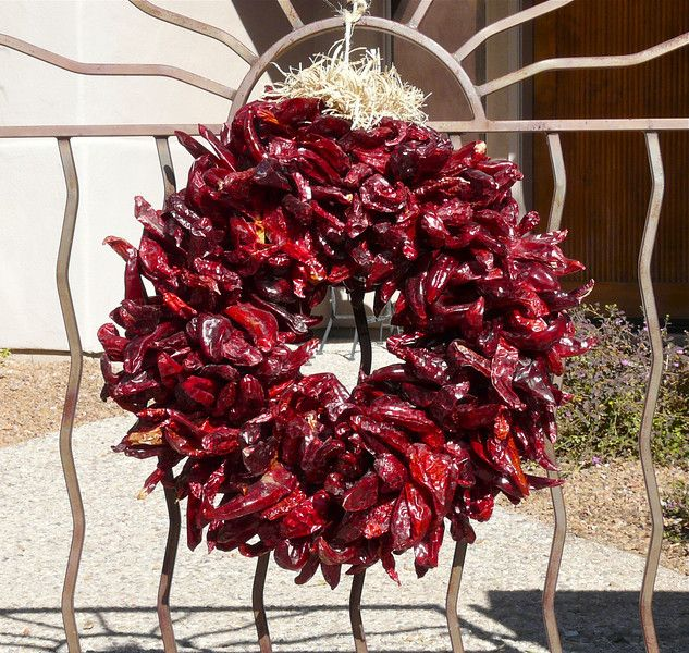 Photograph Of Red Chile Wreath Pinterest Photographs