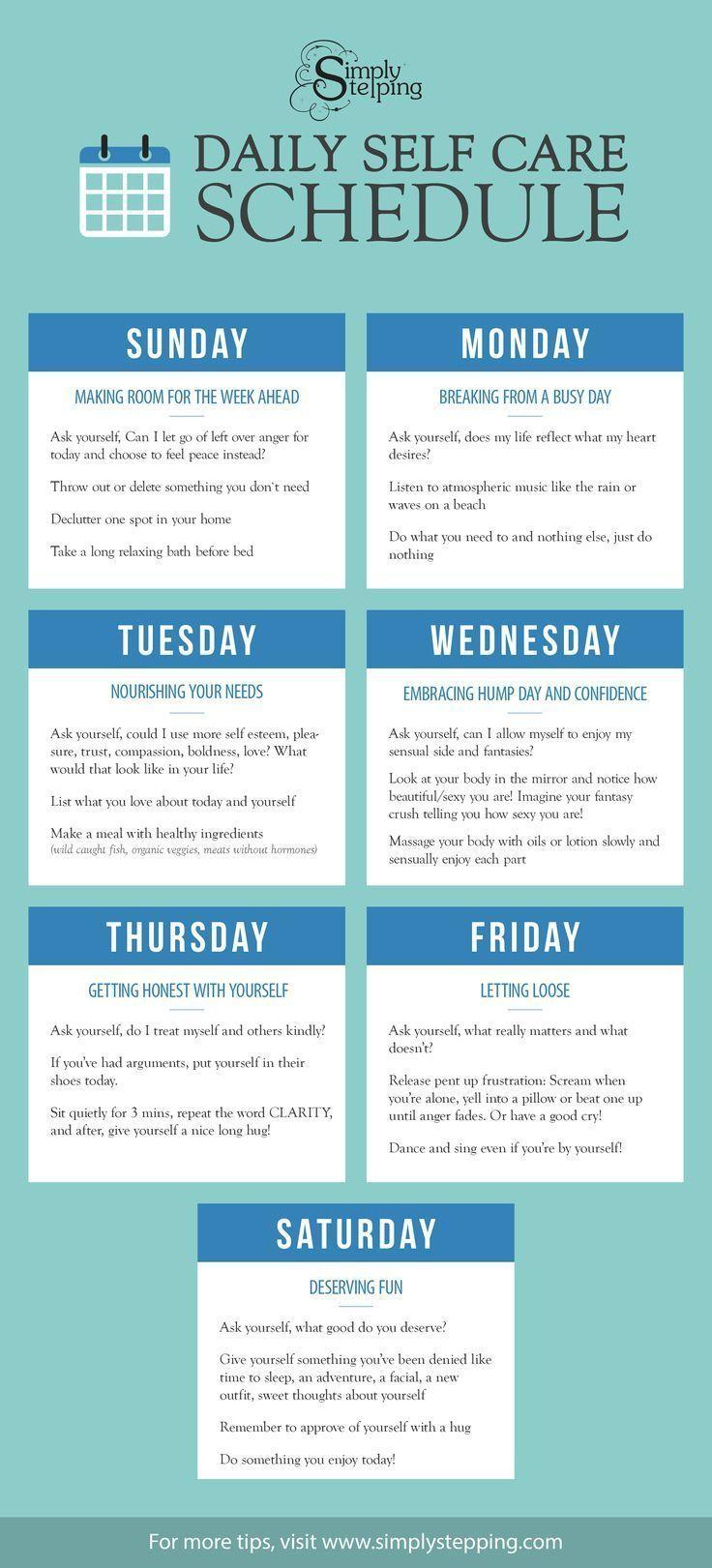Daily Self Improvement Checklist