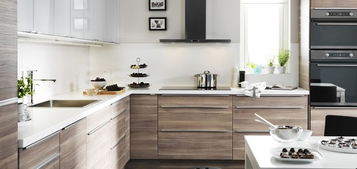 Ikea Kitchens Using SOFIELUND Cabinets