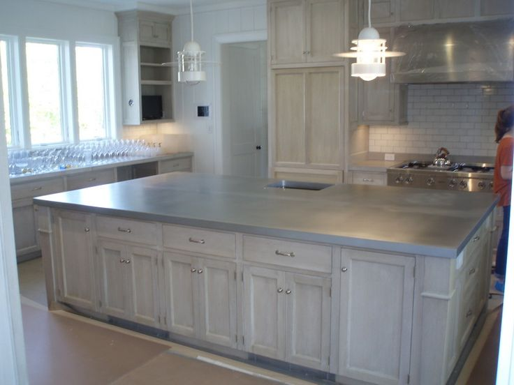 17 best images about zinc countertops on pinterest transitional kitchen kitchen dining tables on kitchen zinc id=62217