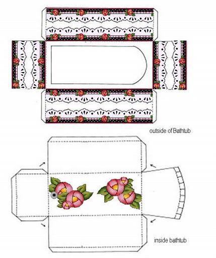 Printable Dollhouse Bathroom
