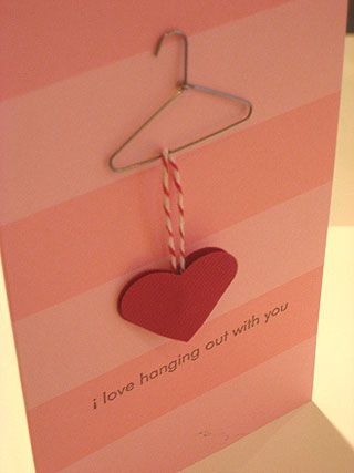 Impress Rubber Stamps: Mini Hangers ; Micro Glue Dots ; Striped Slim Cards ; I Love Hanging Out With You Stamp (5039B).