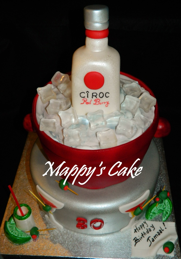 Ciroc Red Berry Vodka Cake Let S Have A Party