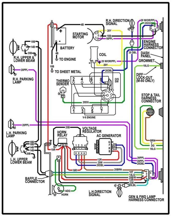 1971 chevy c10 headlight wiring diagram  description wiring