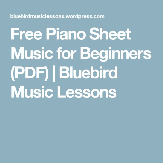 1042 best images about Beginners Piano Music on Pinterest ...