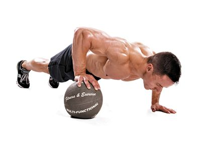 Do this if you guys if you're looking for that cut up chest!   10-Minute Chest and Tri Workout – Men's Fitness