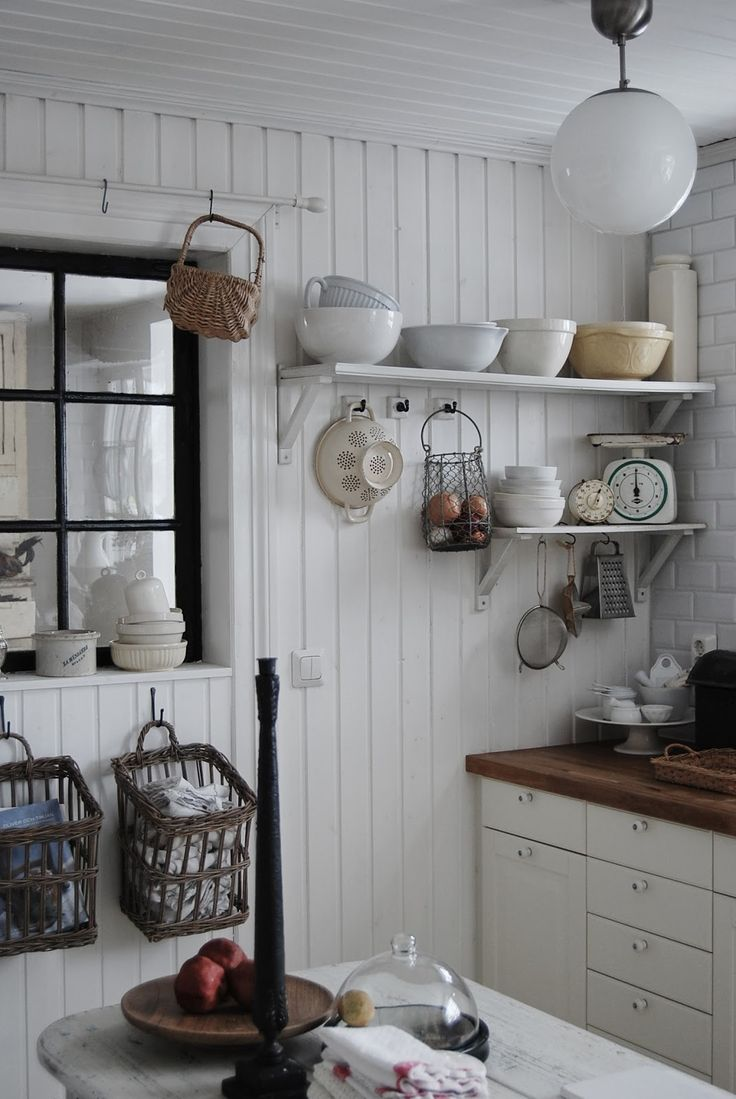 farmhouse eclectic cottage pinterest on farmhouse kitchen open shelves id=11479
