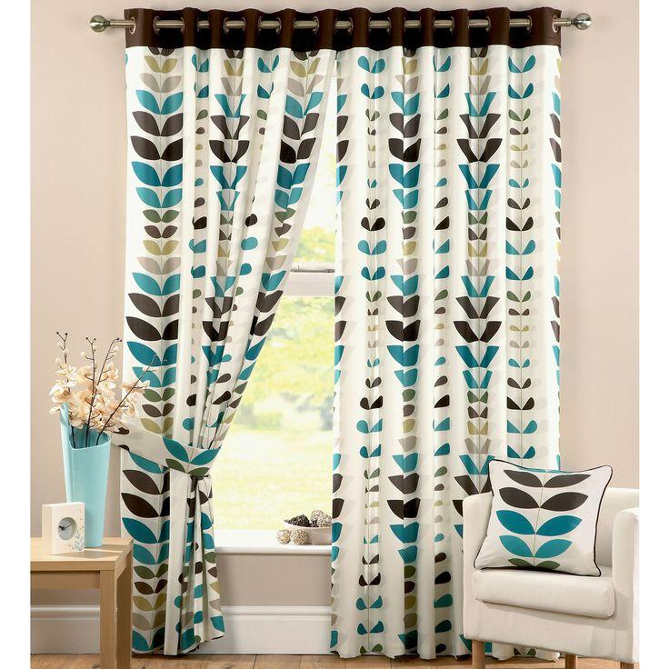 Zest Teal Curtains Kitchen Ideas Pinterest Teal Leaf Prints And Teal Walls