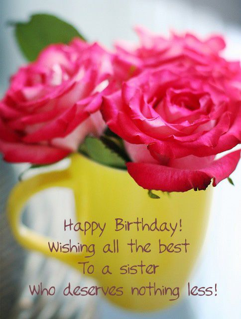 17 Images About Happy B Day Sis Amp Sis In Law On Pinterest