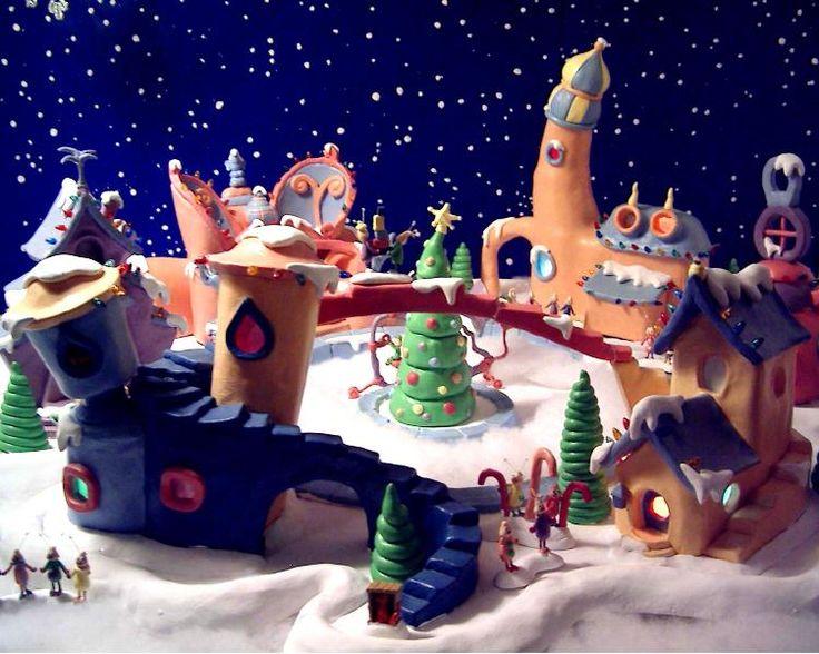 Dr Seuss Whoville Buildings Google Search Putz Dr