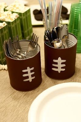 tail-gating or football party Idea