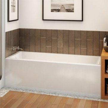 Maax Rubix 6032 AFR Acrylic Soaking Bathtub 60 X 32 X