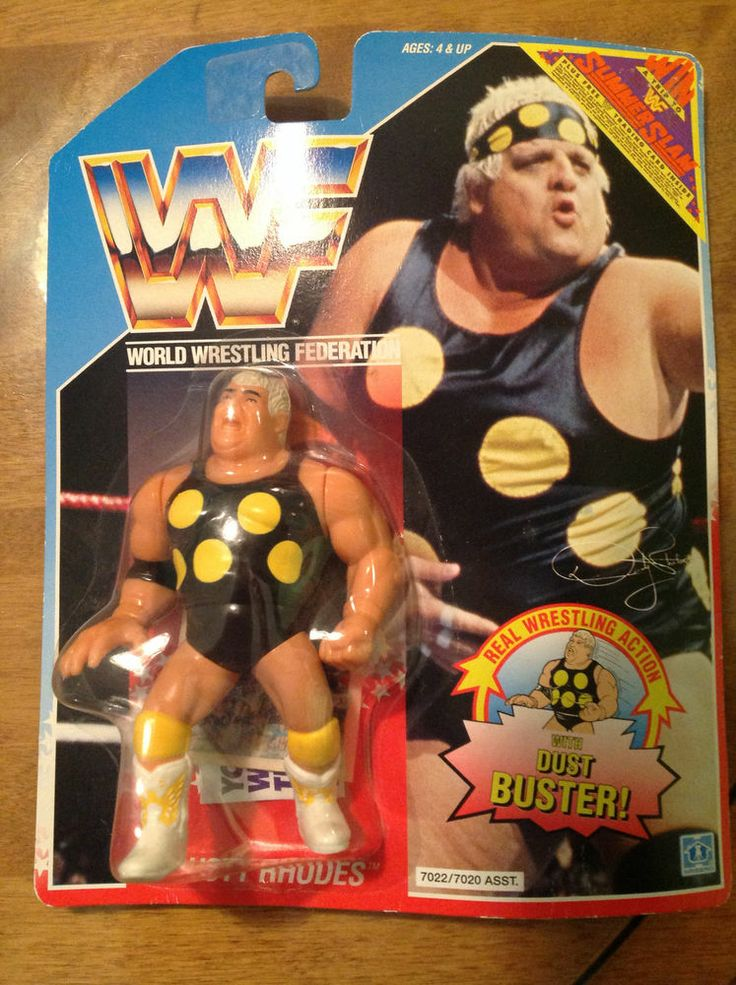 Dusty Rhodes WWF WWE Hasbro Figure MOC | Pinterest | WWE, Rhodes and Dusty rhodes