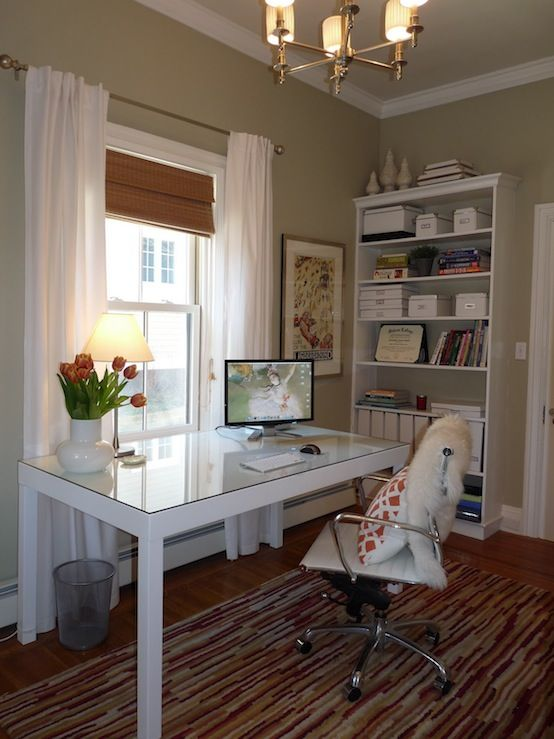 suzie hazardous design chic office design with sage on best wall color for home office id=68007