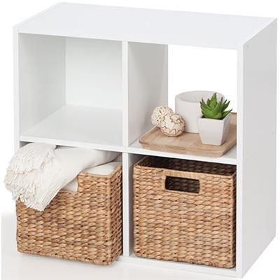 Image For Homemaker 4 Cube Storage Unit White From Kmart