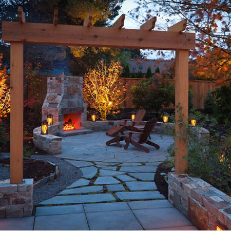 10 Ways to Make Your Backyard More Inviting - Page 9 of 11 on Building Your Own Outdoor Fireplace id=58742