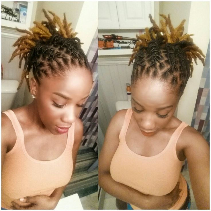 Hairstyles For Short Dreads Page 1